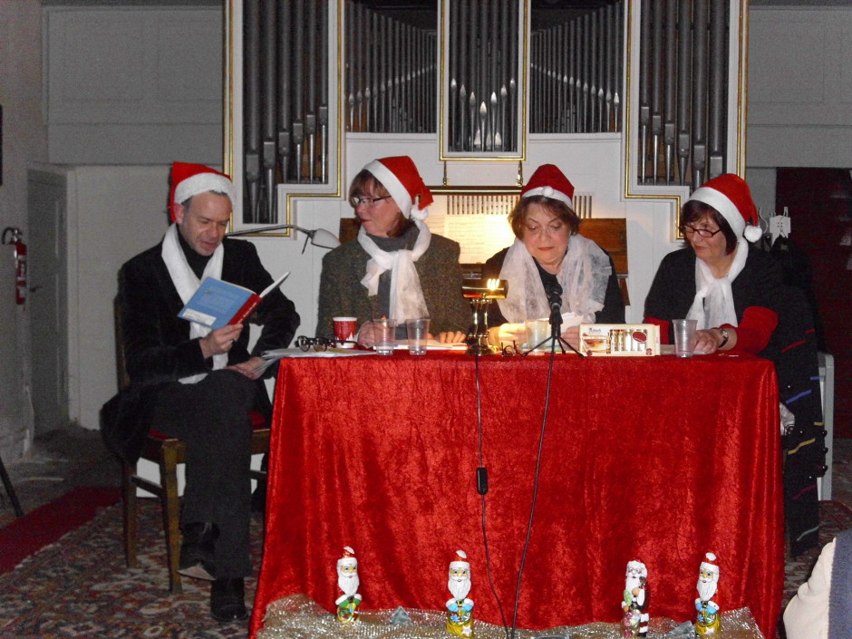 lesung_literatur ladies in der kirche